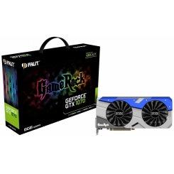 Фото Видеокарта Palit GeForce GTX 1070 GameRock 8192MB (NE51070T15P2-1041G)