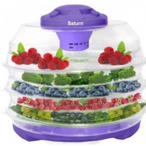 Фото Сушка для фруктов и овощей Saturn ST-FP0112 Light-Violet