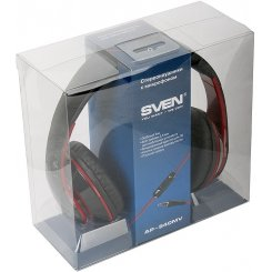 Фото Наушники SVEN AP-940MV Black/Red