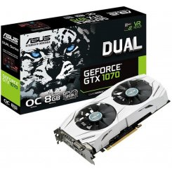 Фото Видеокарта Asus GeForce GTX 1070 Dual OC 8192MB (DUAL-GTX1070-O8G)
