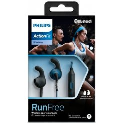 Фото Наушники Philips ActionFit SHQ6500BL/00 Blue