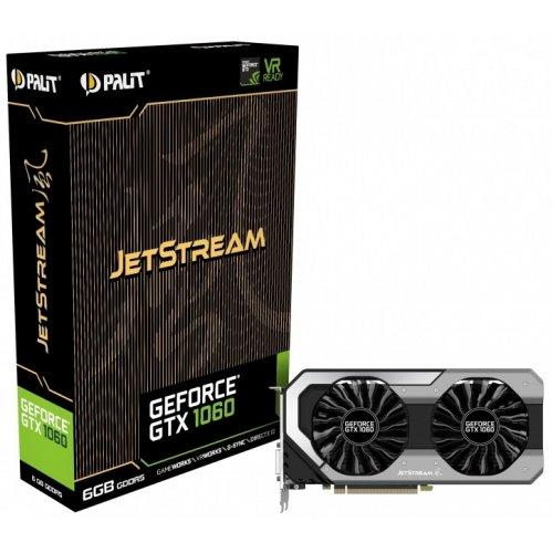 Фото Видеокарта Palit GeForce GTX 1060 JetStream 6144MB (NE51060015J9-1060J)