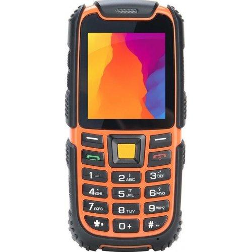 Фото Мобильный телефон Nomi i242 X-treme Black/Orange