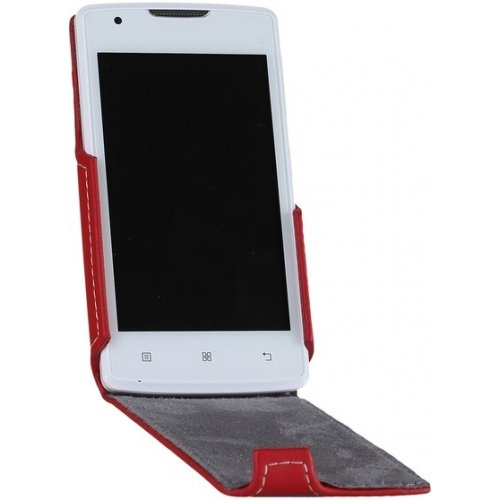 Фото Чехол Чехол RED POINT Flip для Lenovo A1000 Red