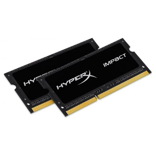 Фото ОЗУ Kingston SODIMM DDR3 16GB (2x8GB) 2133Mhz HyperX Impact (HX321LS11IB2K2/16)