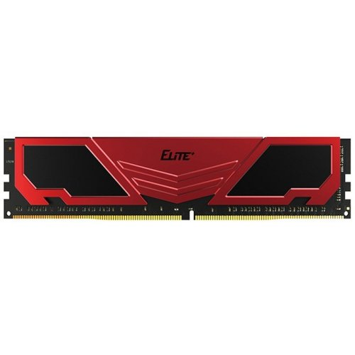 Фото ОЗУ Team DDR4 8GB 2400Mhz Elite Plus Red (TPRD48G2400HC1601)