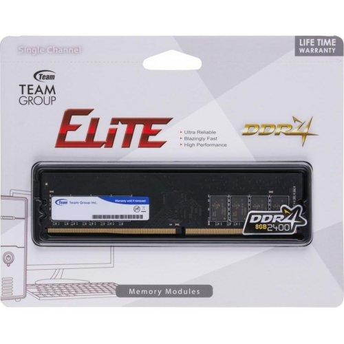 Фото ОЗУ Team DDR4 8GB 2400Mhz Elite (TED48G2400C1601)