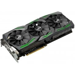 Фото Видеокарта Asus ROG Radeon RX 480 STRIX OC 8192MB (STRIX-RX480-O8G-GAMING)