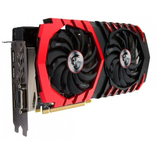Фото Видеокарта MSI Radeon RX 480 Gaming X 4096MB (RX 480 Gaming X 4G)