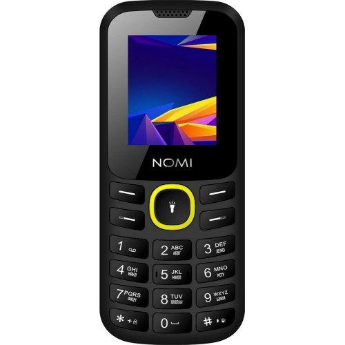 Фото Мобильный телефон Nomi i184 Black/Yellow
