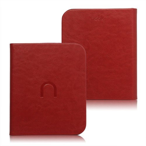 Фото Чехол Обложка Premium Book для Nook Simple Touch Red