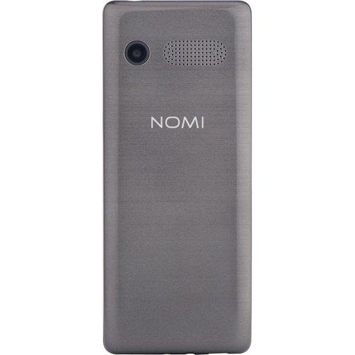 Фото Мобильный телефон Nomi i241+ Metal Dark/Grey