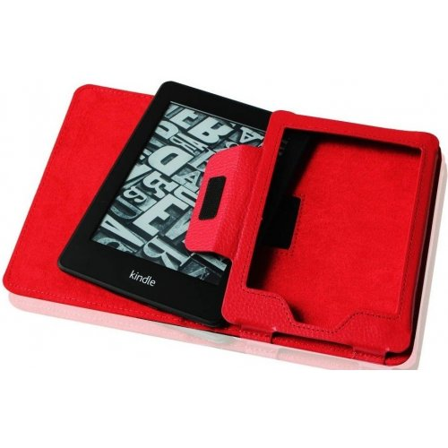 Фото Чехол Обложка Folio Case для Amazon Kindle Paperwhite Red