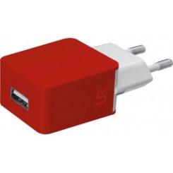 Фото Сетевое зарядное устройство Trust URBAN Smart Wall Charger 1A Red