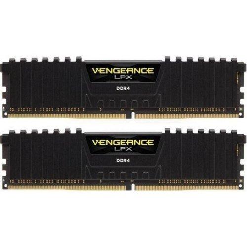Фото ОЗУ Corsair DDR4 32GB (2x16GB) 3000Mhz Vengeance LPX (CMK32GX4M2B3000C15) Black