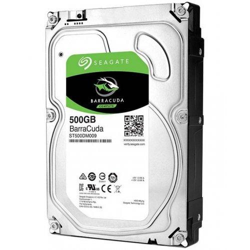 Фото Жесткий диск Seagate BarraCuda 500GB 32MB 7200RPM 3.5'' (ST500DM009)