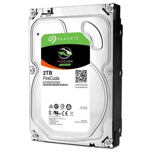 Фото Жесткий диск Seagate FireCuda (SSHD) 2TB 64MB 7200RPM 3.5'' (ST2000DX002)