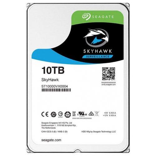 Фото Жесткий диск Seagate SkyHawk (Secure) 10TB 256MB 7200RPM 3.5'' (ST10000VX0004)