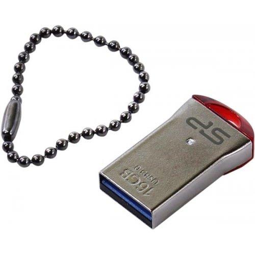 Фото Накопитель Silicon Power Jewel J01 USB 3.0 16Gb Red (SP016GBUF3J01V1R)