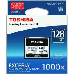 Фото Карта памяти Toshiba Exceria CF UDMA 7 128GB 1000x (CF-128GTGI(8))