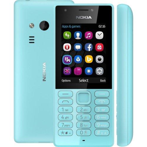 Фото Мобильный телефон Nokia 216 Dual Sim (A00027787) Blue