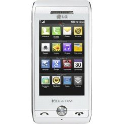 Фото Мобильный телефон LG GX500 Duos White