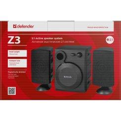 Фото Акустическая система Defender Z3 USB Black