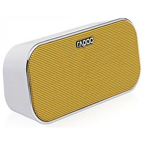 Фото Портативная акустика Rapoo Bluetooth Portable NFC Speaker A500 Yellow