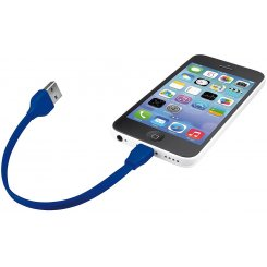 Фото USB Кабель Trust URBAN Flat Lightning Blue