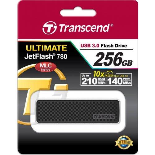 Фото Накопитель Transcend JetFlash 780 256GB USB 3.0 Black (TS256GJF780)