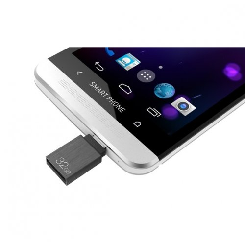 Фото Накопитель Team M151 OTG 32GB USB 2.0 Gray (TM15132GC01)
