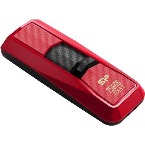 Фото Накопитель Silicon Power Blaze B50 256GB USB 3.0 Red (SP256GBUF3B50V1R)