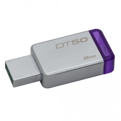 Фото Накопитель Kingston DataTraveler 50 8GB USB 3.1 Purple (DT50/8GB)