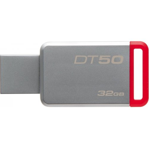 Фото Накопитель Kingston DataTraveler 50 32GB USB 3.1 Red (DT50/32GB)