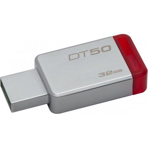 Фото Накопитель Kingston DataTraveler 50 32GB USB 3.1 Red (DT50/32GB)