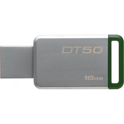 Фото Накопитель Kingston DataTraveler 50 16GB USB 3.1 Green (DT50/16GB)