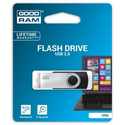 Фото Накопитель GoodRAM Twister UTS2 64GB USB 2.0 Black (UTS2-0640K0R11)