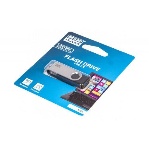 Фото Накопичувач GoodRAM Twister UTS2 64GB USB 2.0 Black (UTS2-0640K0R11)