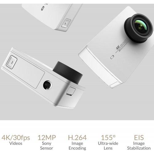 Фото Экшн-камера Xiaomi Yi 4K Action Camera White Pearl