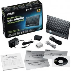 Фото Wi-Fi роутер Asus DSL-AC56U