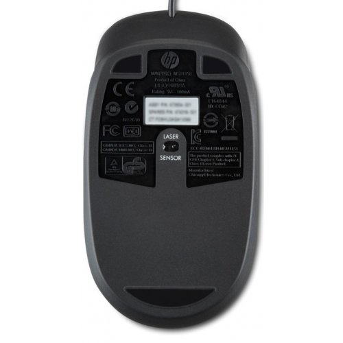 Фото Мышка HP Laser Mouse USB (QY778AA) Black