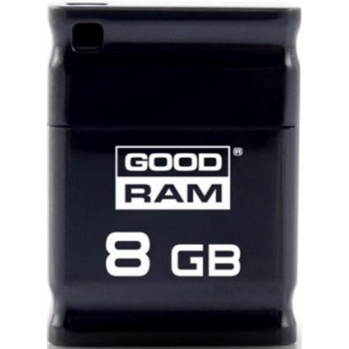 Фото Накопитель GoodRAM Piccolo 8GB USB 2.0 Black (UPI2-0080K0R11)