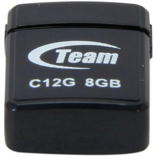 Фото Накопитель Team C12G 8GB USB 2.0 Black (TC12G8GB01)