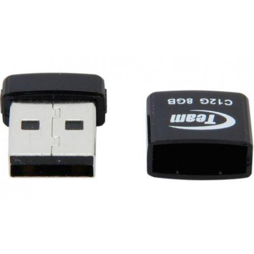 Фото Накопичувач Team C12G 8GB USB 2.0 Black (TC12G8GB01)