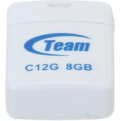 Фото Накопитель Team C12G 8GB USB 2.0 White (TC12G8GW01)