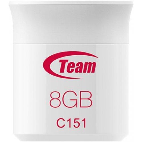 Фото Накопитель Team C151 8GB USB 2.0 White (TC1518GR01)