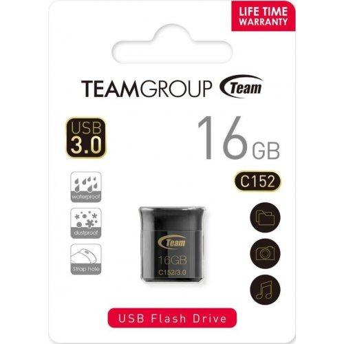 Фото Накопитель Team C152 16GB USB 3.0 Black (TC152316GB01)