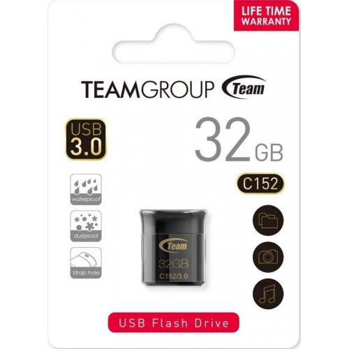 Фото Накопитель Team C152 32GB USB 3.0 Black (TC152332GB01)