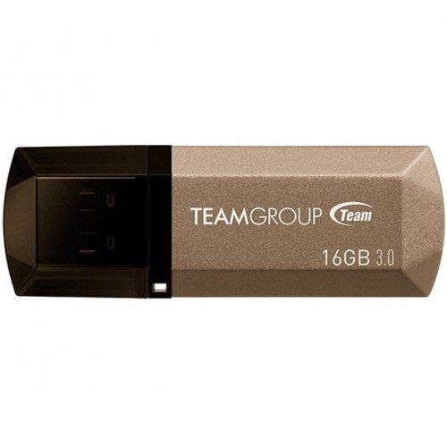 Фото Накопитель Team C155 16GB USB 3.0 Golden (TC155316GD01)