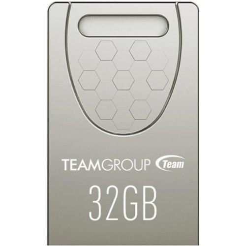 Фото Накопитель Team C156 32GB USB 2.0 Silver (TC15632GS01)